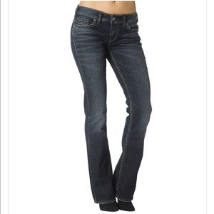 ⭐️ Silver Jeans Aiko Mid Boot Dark Wash 29/33 ⭐️